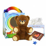 "Cuddle Bear 8"" Travel Ted"