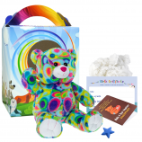 "Kaleidoscope Bear 16"" Travel Ted"