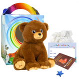 "Cuddle Bear 16"" Travel Ted"