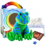 """Funky Daddy Frog 16"""" Travel Ted"""