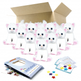 """Katie Kitty 8"""" Party Pack"""