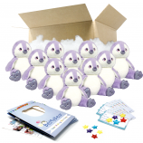 "Purple Penguin 16"" Party Pack"