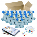 "Blue Puppy 16"" Party Pack"