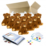 "Cuddle Bear 16"" Party Pack"