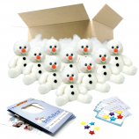 "Snowy Snowman 16"" Party Pack"