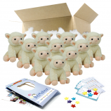 "Little Lamb 8"" Party Pack"