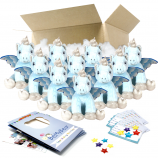 """Crystal Unicorn 16"""" Party Pack"""
