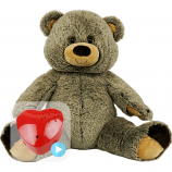"Griz Grizzly 16"" Baby Heartbeat Bear"