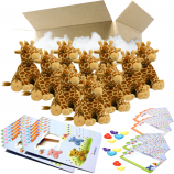 "Giraffe 8"" Party Pack"