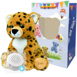 "Cheetah 16"" Baby Heartbeat Bear"