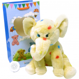 "Elephant 8"" Birthday Memory Bear"
