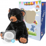 "Jet Bear 16"" Baby Heartbeat Bear"