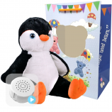 "Poppy Penguin 16"" Baby Heartbeat Bear"