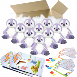 "Purple Penguin 8"" Party Pack"