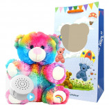 "Rainbow Drop 8"" Baby Heartbeat Bear"
