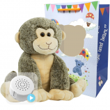"Smiley Monkey 16"" Baby Heartbeat Bear"
