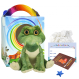"""Snappy Croc 16"""" Travel Ted"""