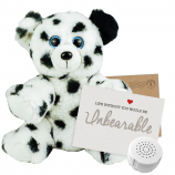"Blush the Pink Kitty 8"" Message Bear"