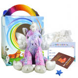 "Stardust Unicorn 16"" Travel Ted"