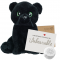 "Black Panther 16"" Message Bear"