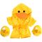 "Duck Robe & Slippers 16"" Outfit"