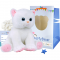 "Marshmallow Cat 16"" Animal Kit"