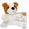 "Bulldog 8"" Message Bear"