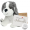 "Snowdon Dog 8"" Message Bear"