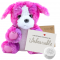 "Peaches Puppy 8"" Message Bear"