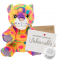 "Crazy Cat 8"" Message Bear"