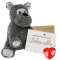 "Terry Terrier 16"" Message Bear"