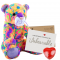 "Crazy Cat 16"" Message Bear"