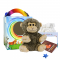 "Monkey 8"" Travel Ted"