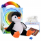 "Poppy Penguin 16"" Travel Ted"