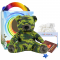 "Camo Bear 16"" Travel Ted"