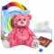 "Peace and Love Bear 16"" Travel Ted"