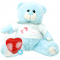 "Prince 16"" Baby Heartbeat Bear + Girl T-Shirt"
