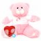 "Princess 16"" Baby Heartbeat Bear + Girl T-Shirt"