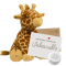 "Giraffe 8"" Message Bear"
