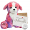 "Peaches Puppy 16"" Message Bear"
