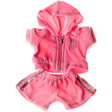 """Pink Jogging 8"""" Outfit"""