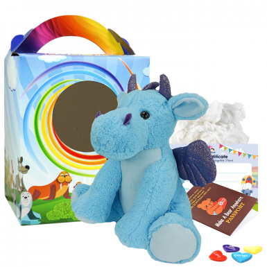 """Magic The Dragon 16"""" Travel Ted"""