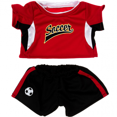 "Red Football Kit 16"" Outfit"