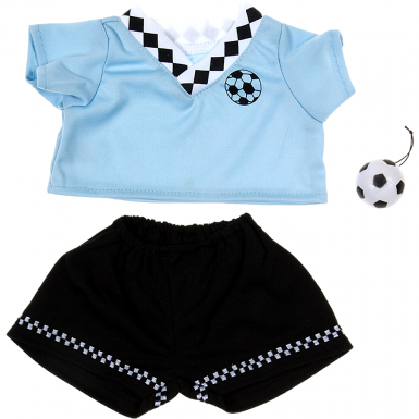 "Blue Football Kit 16"" Outfit"