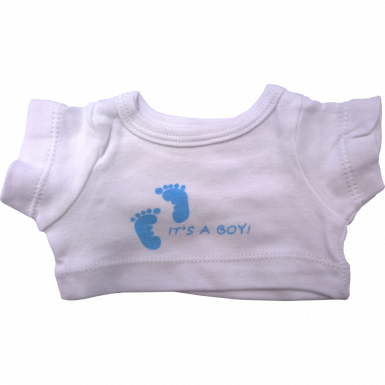 "It's A Boy 16"" T-Shirt"