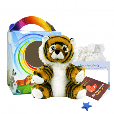 "Tiger 8"" Travel Ted"