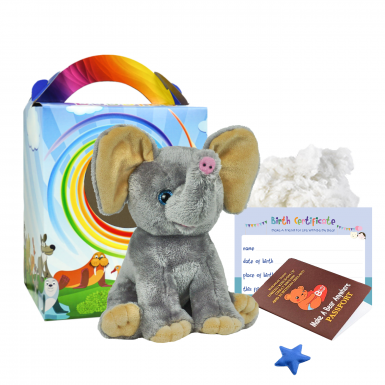"Elephant 8"" Travel Ted"