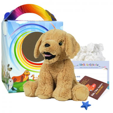 "Parsnip Pup 16"" Travel Ted"