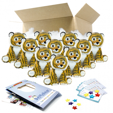 """Bruno Tiger 16"""" Party Pack"""
