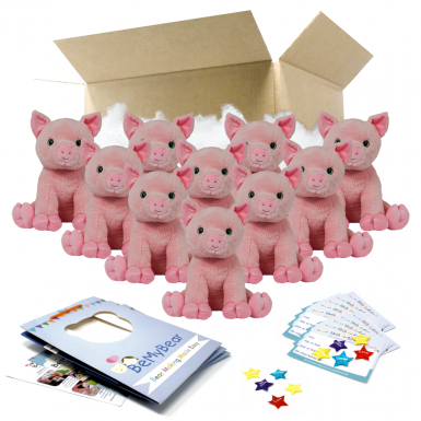 """Percy Pig 16"""" Party Pack"""